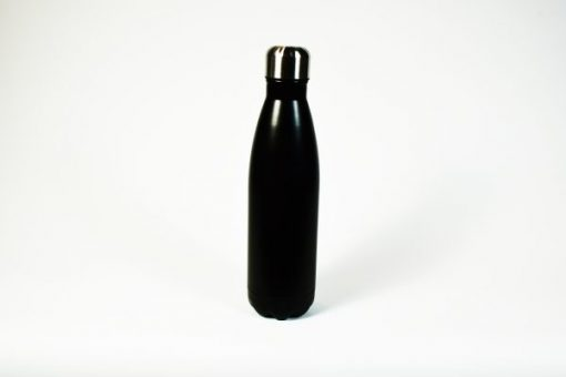 Insulated thermos bottle, black. 500 ml.