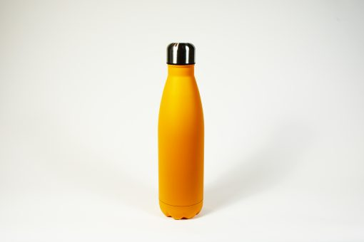 Bouteille isotherme orange. 500 ml.