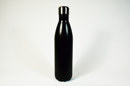 Bouteille noire isotherme. 750 ml.
