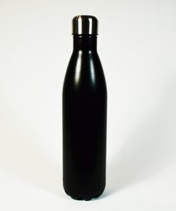 Insulated thermos bottle, black. 750 ml.