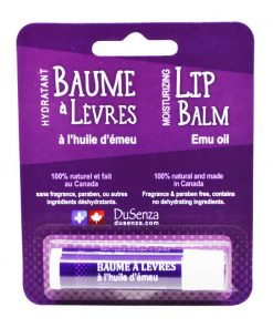 Emu Oil Lip Balm. Made in Canada.