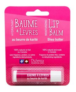 Shea Butter Lip Balm. Made in Canada.