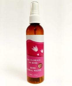 Rose Floral Water. 118 ml spray bottle.