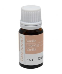 Vanilla fragrance. 10 ml bottle.