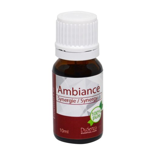 Synergy ambiance essential oil. 10 ml bottle.