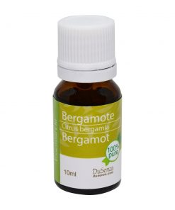 Bergamot essential oil. 10 ml bottle.
