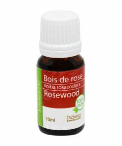 Huile essentielle de bois de rose. Bouteille de 10 ml.