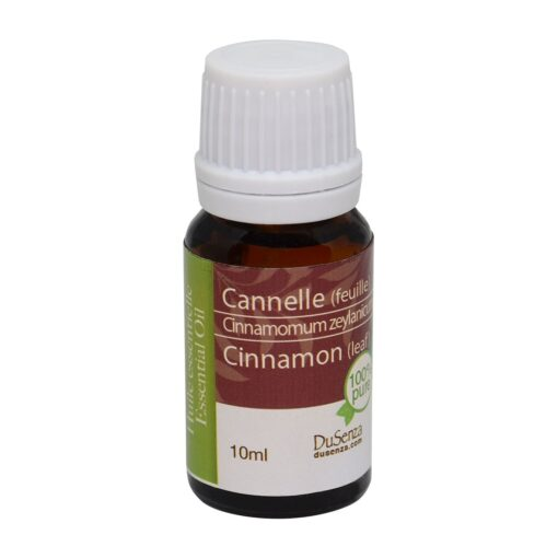 Cinnamon leaf essential oil. 10 ml bottle.