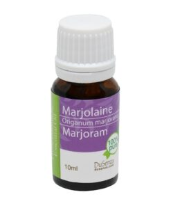 Marjoram essential oil. 10 ml bottle.