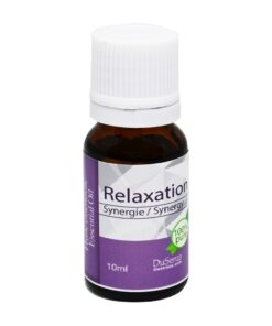 Synergy relaxation essential oil. 10 ml bottle.