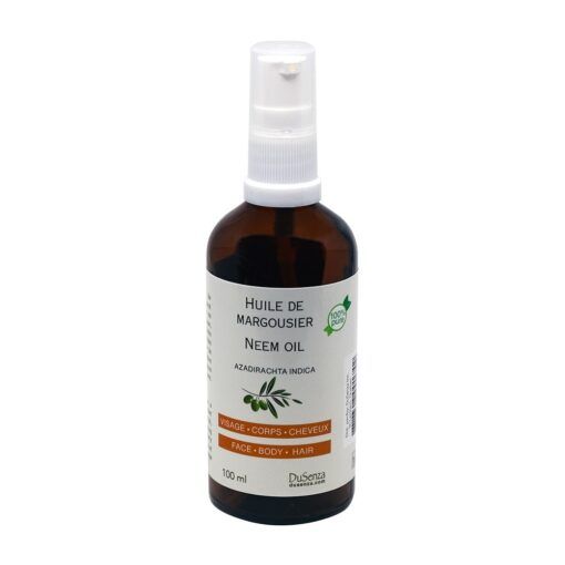 Neem oil. 100 ml bottle with dispenser pump.
