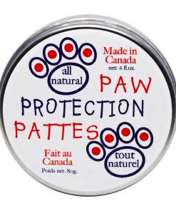 All natural paw protection. 80 g tin.